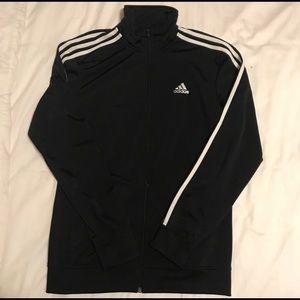 Small black adidas track jacket